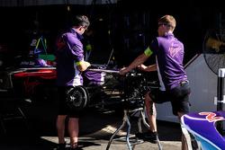 Voiture de Sam Bird, DS Virgin Racing