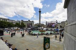 Die Menschenmenge in London