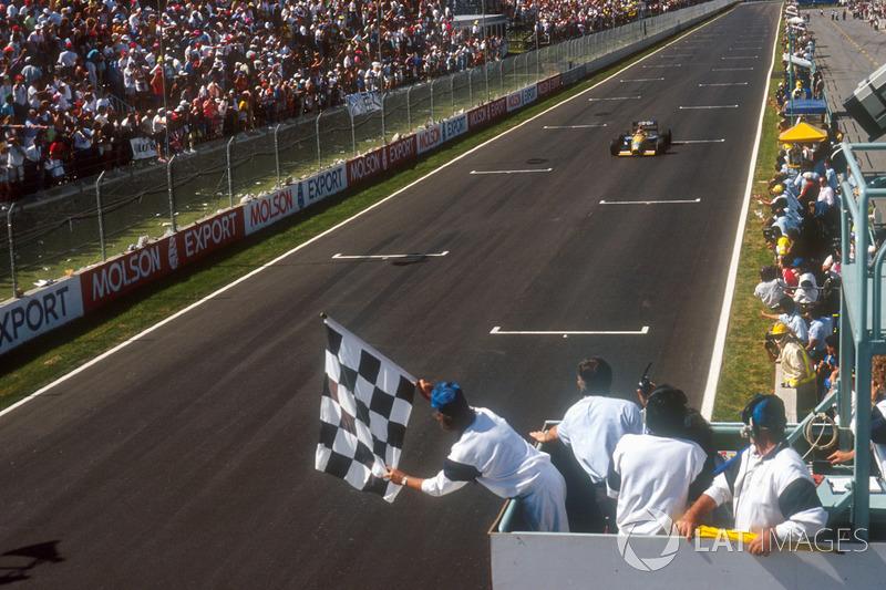 Нельсон Піке (Benetton B191 Ford) здобуває перемогу