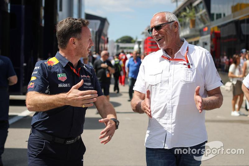 Засновник і генеральний директор Red Bull Дітріх Матєшиц, керівник Red Bull Racing Крістіан Хорнер
