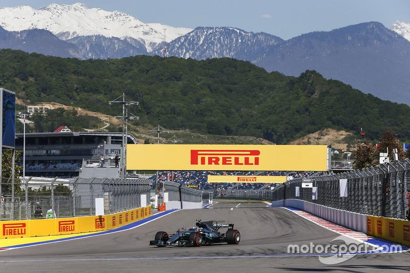Valtteri Bottas, Mercedes F1 W08 Hybrid