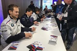 Tom Blomqvist, BMW Team RBM, BMW M4 DTM, Bruno Spengler, BMW Team RBM, BMW M4 DTM, Augusto Farfus, BMW Team RMG, BMW M4 DTM
