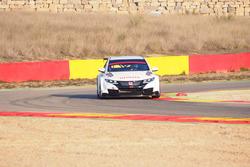 Honda Civic WTCC, test in Spagna