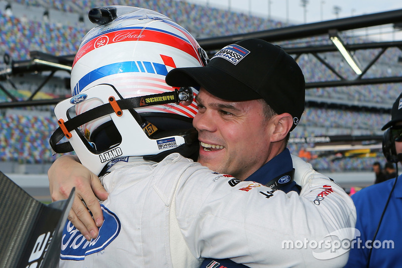 Pole position GTLM para Joey Hand, Ford Performance Chip Ganassi Racing with Dirk Müller