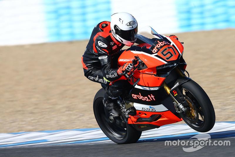 Mike Jones, Aruba.it Racing – Ducati
