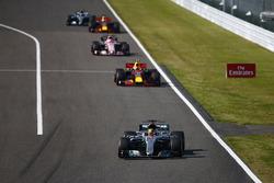 Lewis Hamilton, Mercedes AMG F1 W08, Max Verstappen, Red Bull Racing RB13, Esteban Ocon, Sahara Force India F1 VJM10, Daniel Ricciardo, Red Bull Racing RB13, Valtteri Bottas, Mercedes AMG F1 W08