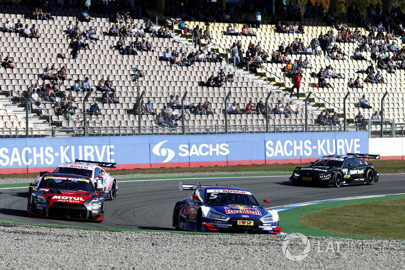 Super GT and DTM demo run