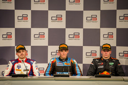 Press Conference:Dorian Boccolacci, Trident, Alessio Lorandi, Jenzer Motorsport, Niko Kari, Arden International