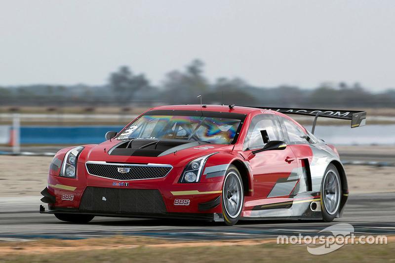 Pruebas Cadillac Racing