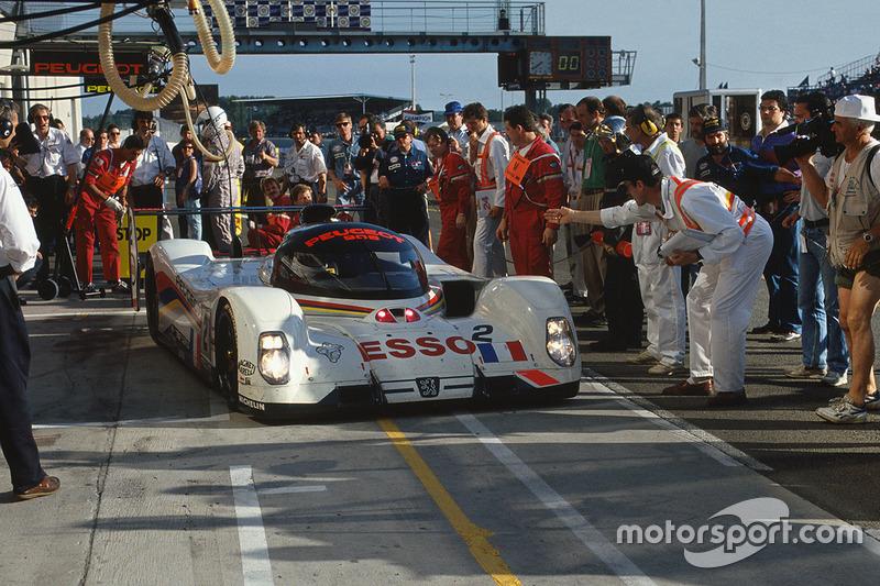 #2 Peugeot Sport Peugeot 905: Jean-Pierre Jabouille, Philippe Alliot, Mauro Baldi