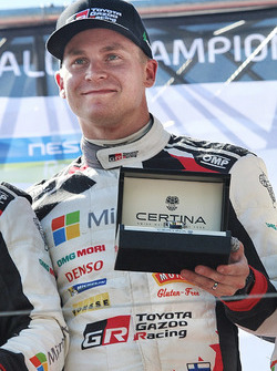 Winner Esapekka Lappi, Toyota Racing