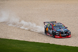 James Courtney, Holden Racing Team runs out