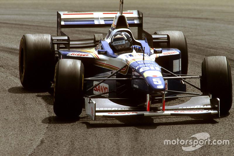 12. El Williams FW18 Renault de Fórmula 1