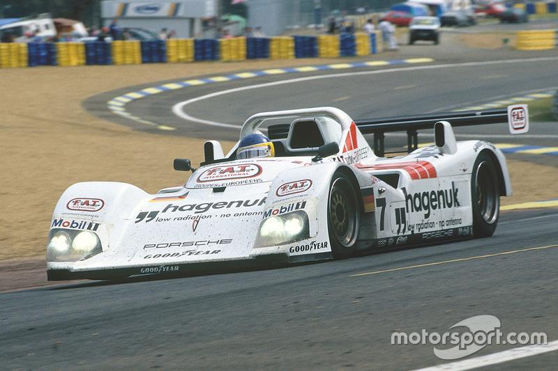 1997: Michele Alboreto, Stefan Johansson, Tom Kristensen, TWR-Porsche WSC-95