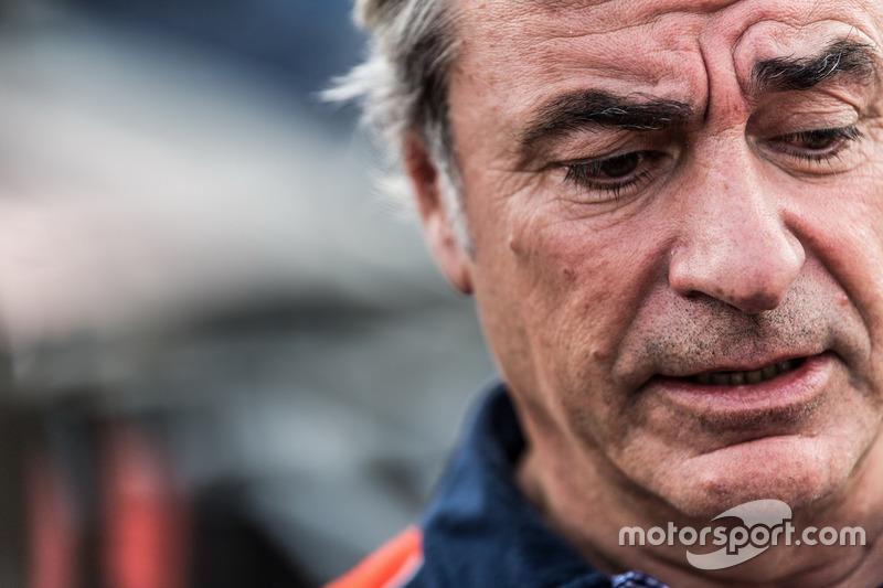 El Dakar sanciona a Sainz con 10 minutos