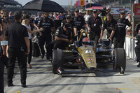 James Hinchcliffe, Schmidt Peterson Motorsports Honda team makes unsuccessful attempt to qualify