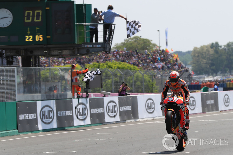 15. Переможець Гран Прі Франції 2018 року: Марк Маркес, Repsol Honda Team
