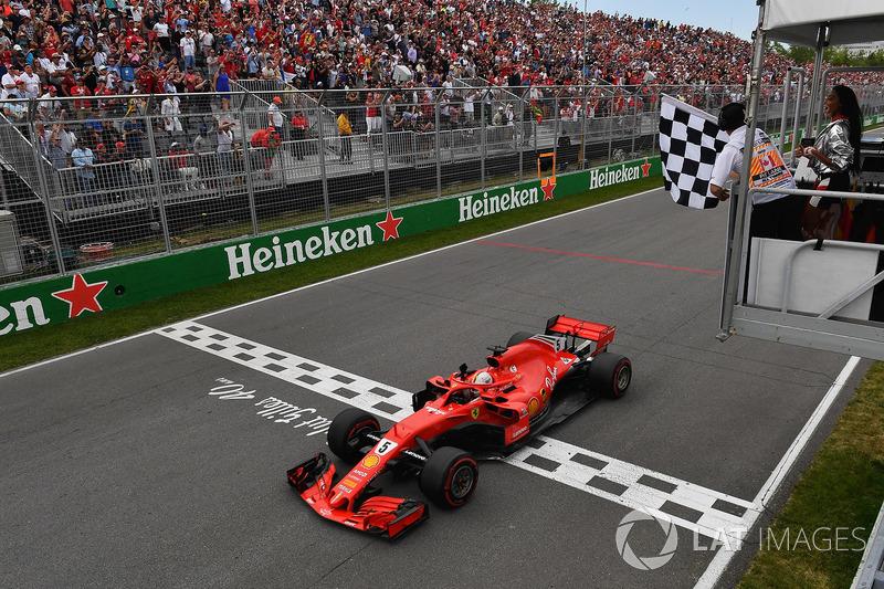 7. GP Kanada - Pemenang: Sebastian Vettel