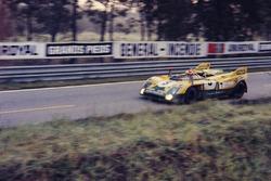 #5 Porsche 908/3: Juan Fernández, Eugenio Baturone y Francisco Torredemer