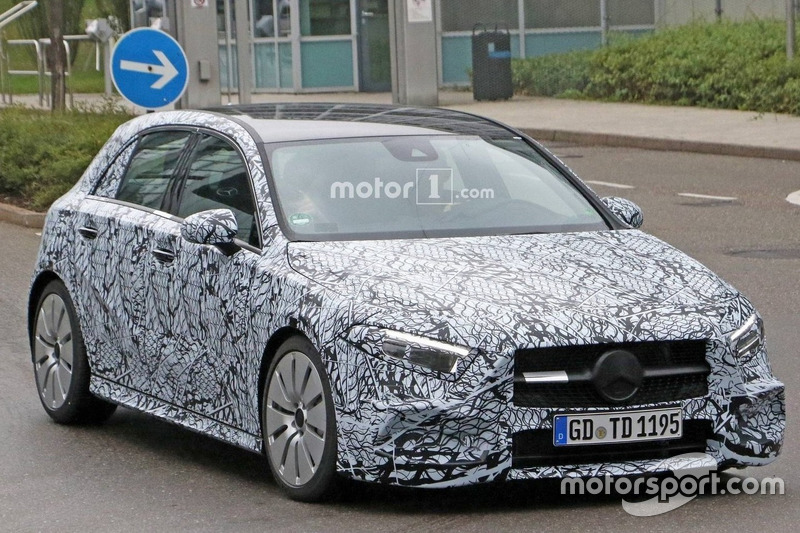 2018 Mercedes-AMG A35 - шпигунське фото