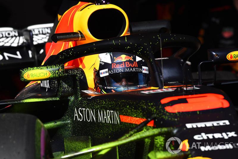 Даниэль Риккардо, Red Bull Racing RB14 в аэродинамической краске