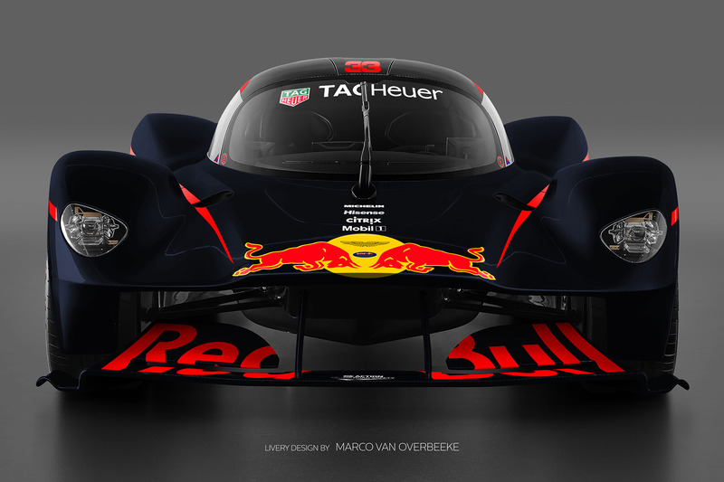 Valkyrie Red Bull livery 3b
