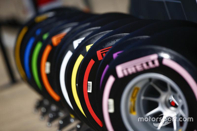 Les pneus colorés de Pirelli