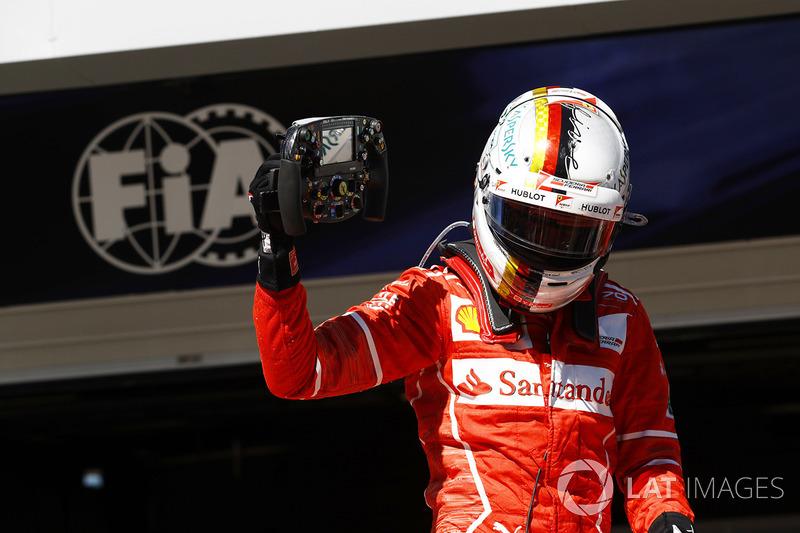 Brezilya GP - Kazanan: Sebastian Vettel