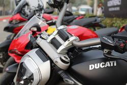 Ducati bike detail