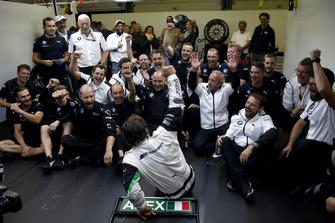 Alex Zanardi, BMW Team RMR et son équipe