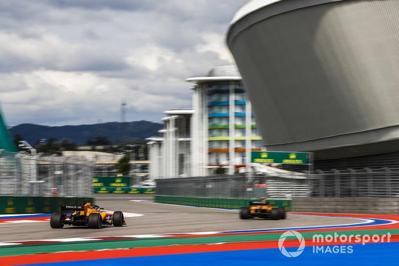 Стоффель Вандорн и Ландо Норрис, McLaren MCL33