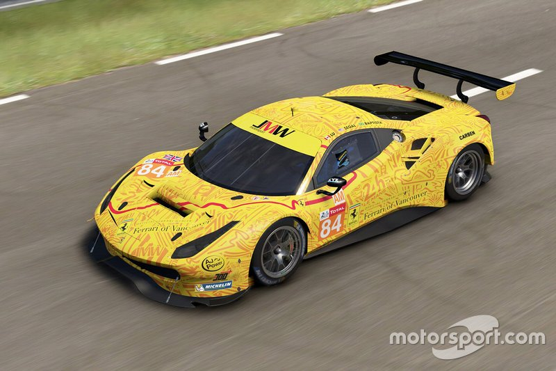 Designpräsentation: JMW Motorsport