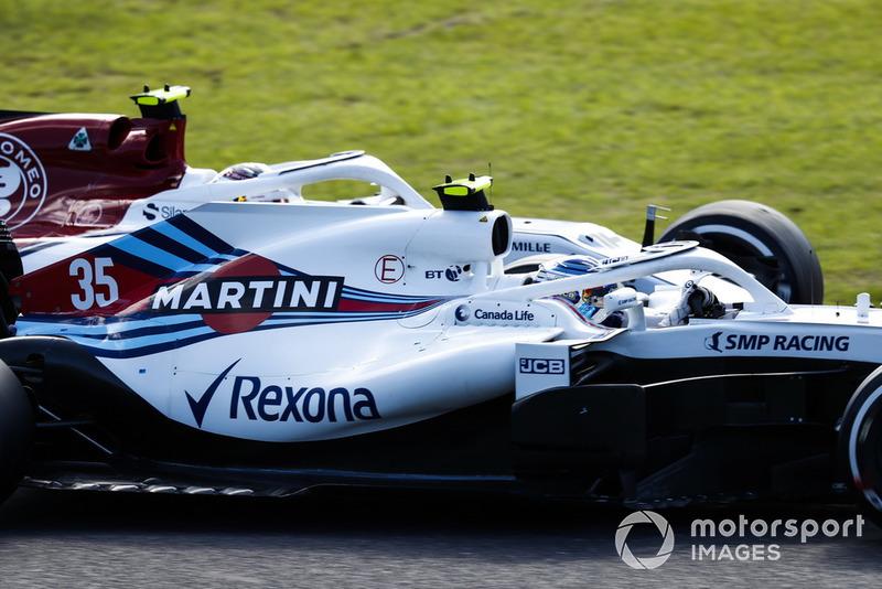 16e : Sergey Sirotkin (Williams)