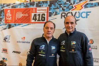 #416 Roberto Carranza, Juan Carlos Fernández, FN Speed