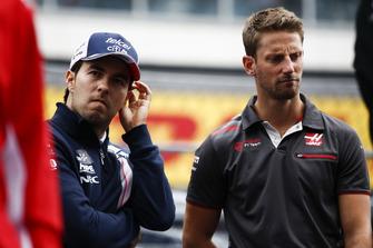 Серхіо Перес, Racing Point Force India, Ромен Грожан, Haas F1 Team, Енді Гон