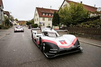 Porsche 919 Hybrid Evo en las carreteras públicas alemanas
