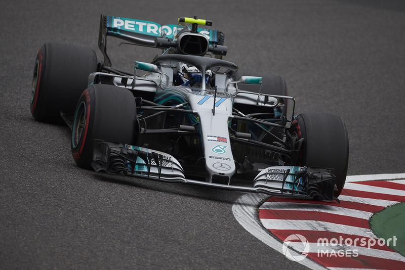 2: Valtteri Bottas, Mercedes AMG F1 W09, 1'28.059
