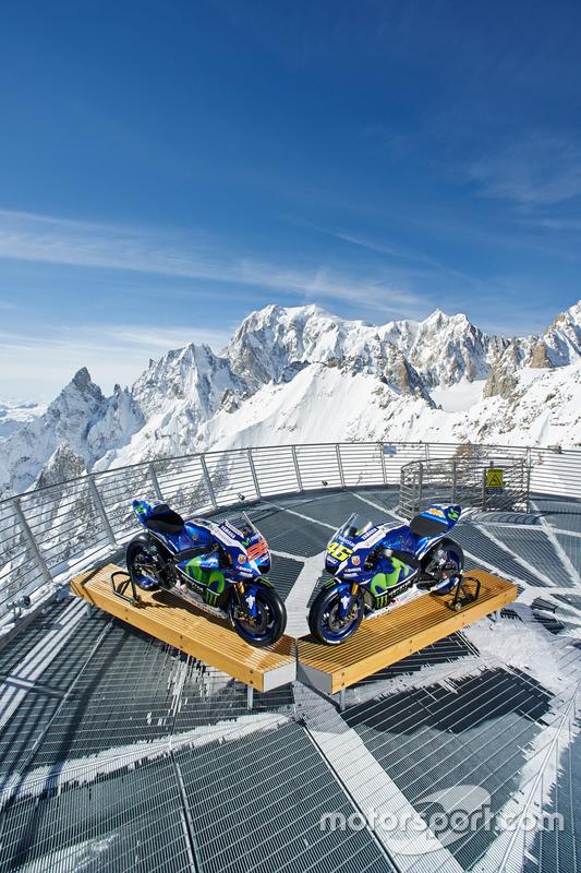 De 2016 Yamaha YZR-M1s van Jorge Lorenzo en Valentino Rossi, Yamaha Factory Racing