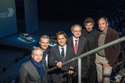 Jean Todt, Jens Marquardt, Alex Zanardi, Burkhard Göschel, Boris Said, Gerhard Berger