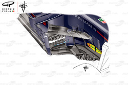 Pontons de la Red Bull RB14, GP d'Espagne