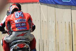 Andrea Dovizioso, Ducati Team après son accident