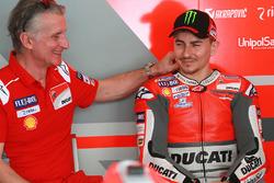 Ciabatti, Jorge Lorenzo, Ducati Team