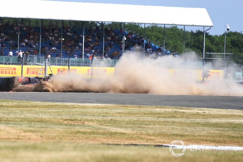 L'incidente di Brendon Hartley, Scuderia Toro Rosso STR13