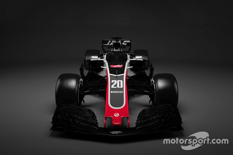 Decoración del Haas F1 Team 2018