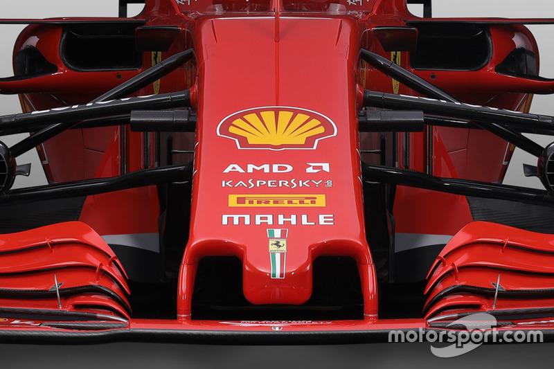 Ferrari SF71H nose detail