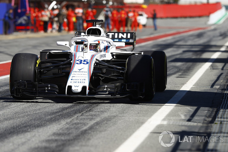 Sergey Sirotkin, Williams FW41