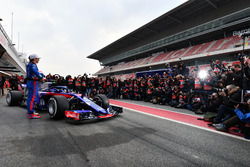 Pierre Gasly, Scuderia Toro Rosso and Brendon Hartley, Scuderia Toro Rosso, the new Scuderia Toro Ro