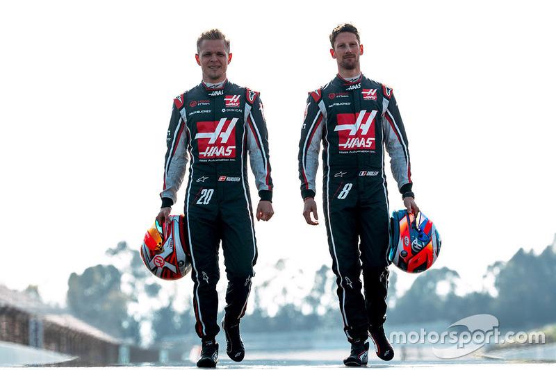 Pilotos 2018: Kevin Magnussen y Romain Grosjean