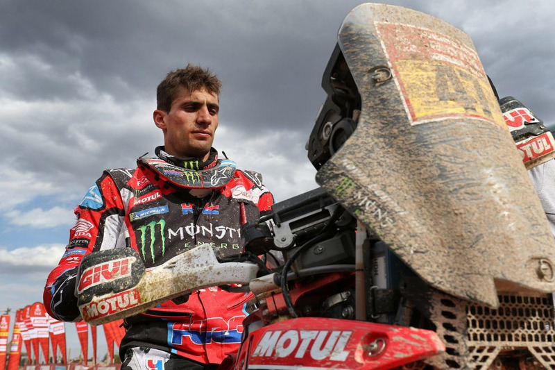 #47 Monster Energy Honda Team: Kevin Benavides