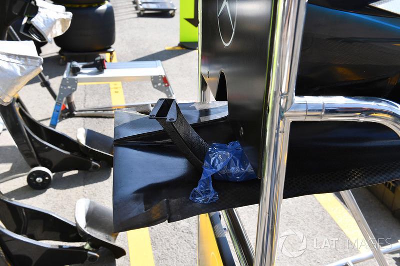Mercedes-AMG F1 W09 EQ Power+ burun detay